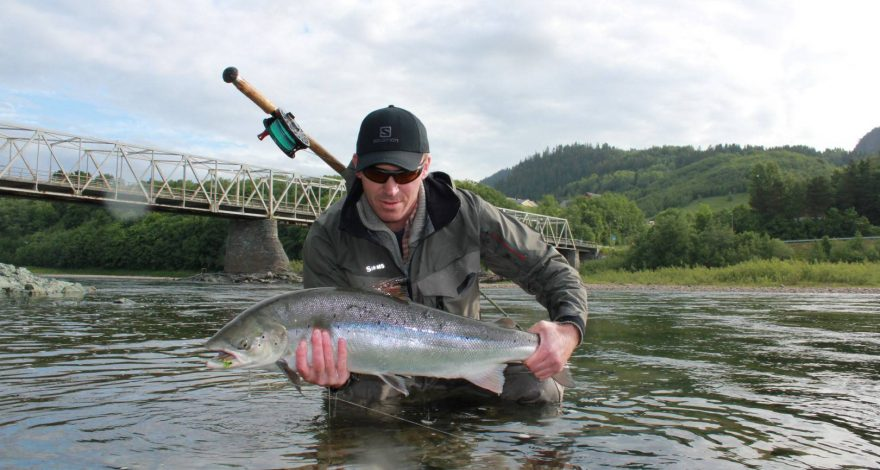 One of the salmon from Beat E7.