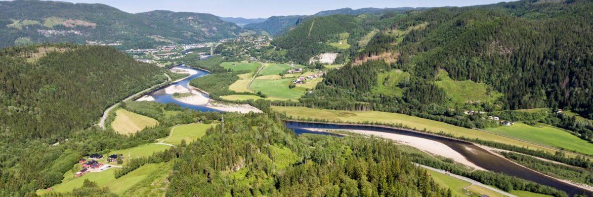 The Gaula River