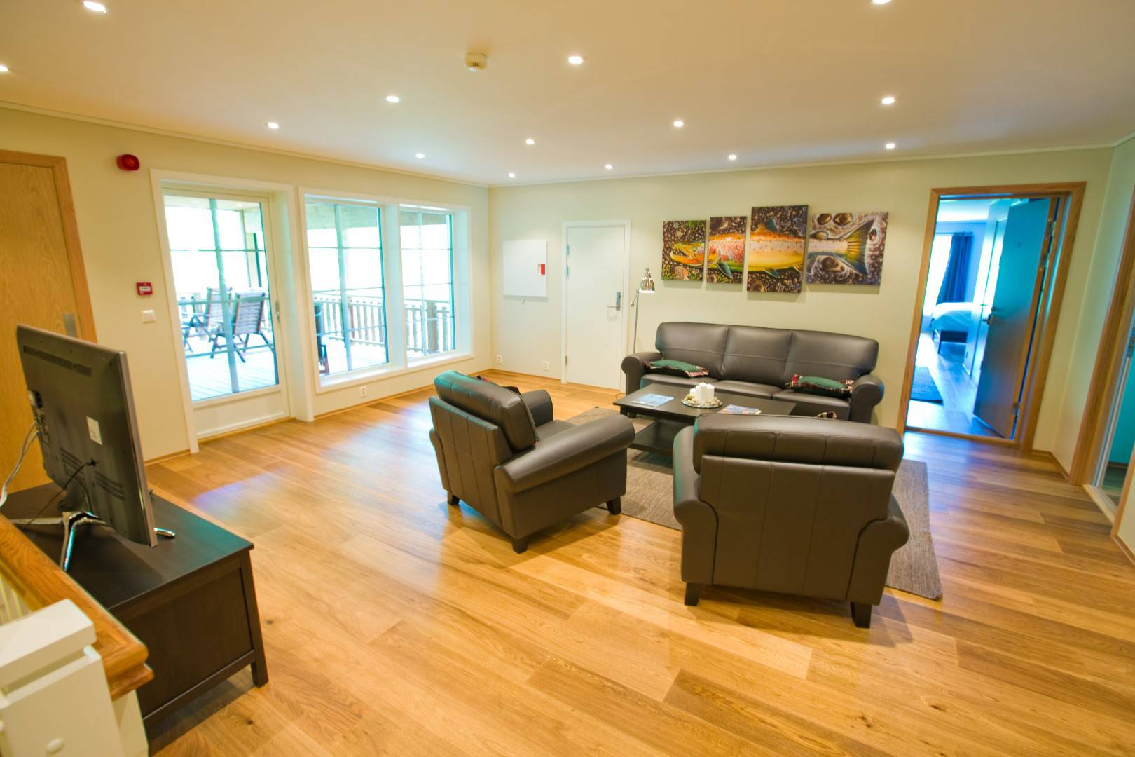Living and TV-room upstairs