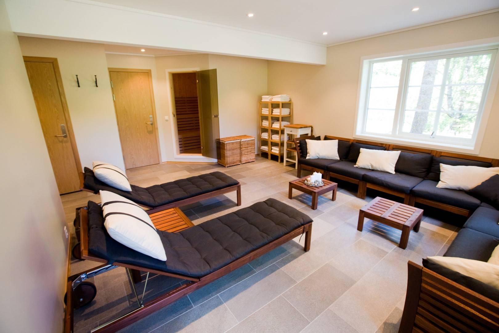 Spa area with Sauna