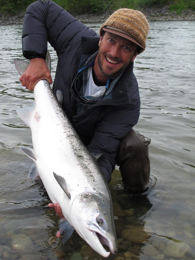 Charles with his big one from Beat E2