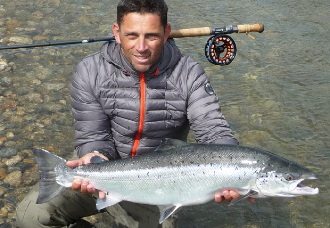 Laurent Galliot with his 3rd fish