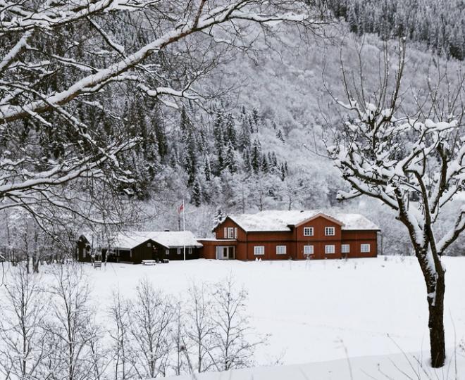 Winter on the Gaula.