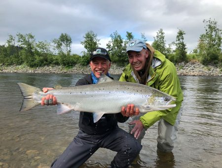 After super low water conditions, it finally rained- and the fishing turned on!!